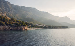 Coast Croatia. Photo of Coast Croatia, sun Stock Images