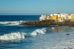 coast cruz de Λα ocean puerto Ισπανία tenerife Στοκ Εικόνες