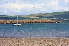 Coast of Cumbria Stock Images