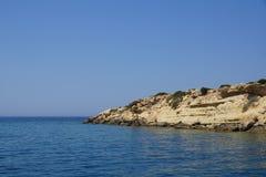 Coast of Cyprus Stock Photography