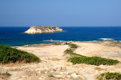 Coast of Cyprus Stock Photos