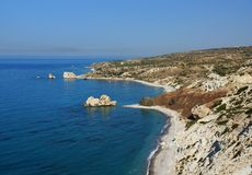 Coast of Cyprus Royalty Free Stock Images