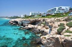 Coast of Cyprus Stock Photo