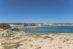 Coast of Cyprus island Royalty Free Stock Photography