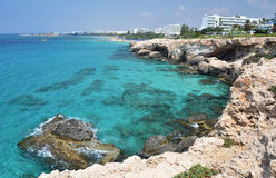 Coast of Cyprus Royalty Free Stock Photography