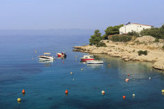 The coast of Dalmatia in autumn Royalty Free Stock Image