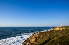 coast de moel Pedro Πορτογαλία ασήμι Σάο Στοκ φωτογραφία με δικαίωμα ελεύθερης χρήσης