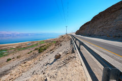 Coast of Dead Sea Royalty Free Stock Photo