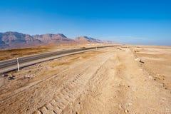 Coast of Dead Sea Stock Photography