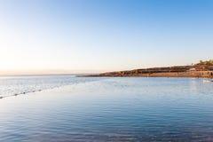 Coast of the Dead Sea Stock Photo