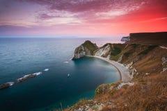 Coast of Dorset, UK. Stock Photo