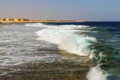 Coast of Egypt Stock Photography