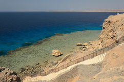 Coast in Egypt. Red Sea. Royalty Free Stock Photography