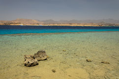 Coast in Egypt. Red Sea Royalty Free Stock Photography