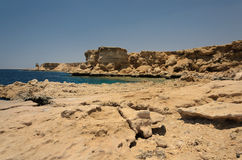 Coast in Egypt. Red Sea Stock Photos