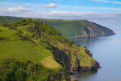 Coast of England North Devon Royalty Free Stock Images