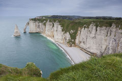 Coast in Etretat Royalty Free Stock Image