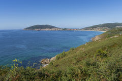 Coast of Finisterre. Stock Photos