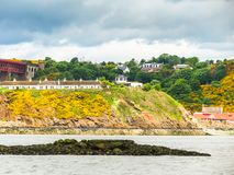 Coast of the Firth of Forth. Edinburgh, Scotland. UK Stock Image