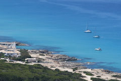 Coast of formentera Royalty Free Stock Photography
