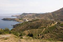 Coast of France, Roussillon Stock Image