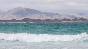 Coast of Fuerteventura Royalty Free Stock Photography