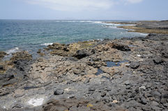 Coast of Fuerteventura, Spain Royalty Free Stock Photography
