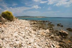 Coast at Gajac Stock Photos