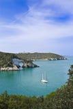 Coast of gargano, apulia, seascape, panorama Royalty Free Stock Photography