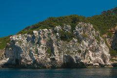 The coast of Gargano national park in Italy Royalty Free Stock Images