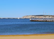 Coast of Getxo Stock Images