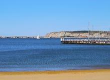 Coast of Getxo Stock Images
