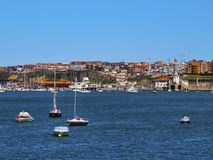 Coast of Getxo Royalty Free Stock Photography