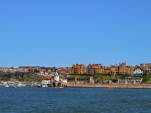 Coast of Getxo Stock Image