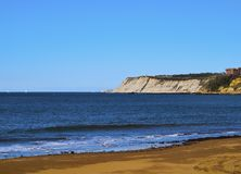 Coast of Getxo Royalty Free Stock Photography