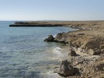 Coast at Giftun Island Stock Photography