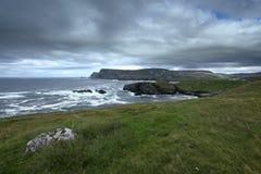 The coast of Glen Head Stock Photography