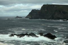 The coast of Glen Head Royalty Free Stock Photo