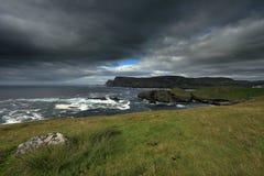 The coast of Glen Head Stock Photos
