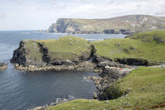 Coast at Glencolumbkille Donegal Stock Image