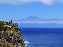 Coast of Gomera Royalty Free Stock Photos
