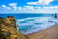 Coast of Great Ocean Road2. Coast of Great Ocean Road Stock Photography
