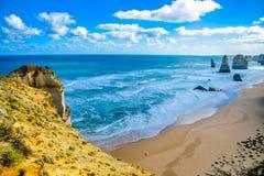 Coast of Great Ocean Road4. Coast of Great Ocean Road Stock Image