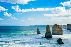 Coast of Great Ocean Road6 Royalty Free Stock Images