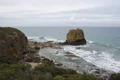 Coast of the Great Ocean Road. Australia Royalty Free Stock Image