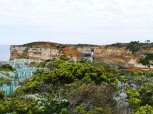 The coast of the great ocean road Royalty Free Stock Photo
