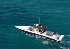Coast Guard. The coast guard of St. Croix / U.S. Virgin Islands stock image