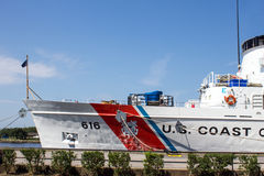 Coast Guard Boat Royalty Free Stock Images