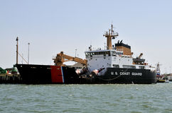 Coast Guard Buoy Tender Royalty Free Stock Image