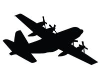 Coast Guard C130 Stock Photo